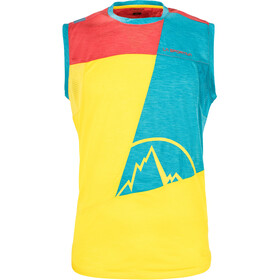 La Sportiva Strive Sleeveless Shirt Men yellow/blue